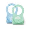 Nuvita Squashy szilikon előke - kék & zöld - 4370