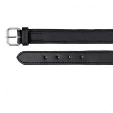 Nyakörv Active bőr L-XL 55-65cm/40mm fekete nyakörv, póráz, hám kutyáknak