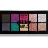 NYX Professional Makeup Glitter Goals highlighter paletta 10 x 1,2 g