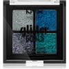 NYX Professional Makeup Glitter Goals highlighter paletta kis csomagolás árnyalat 01 Glacier 4 x 1 g