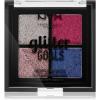 NYX Professional Makeup Glitter Goals highlighter paletta kis csomagolás árnyalat 03 Love On Top 4 x 1 g
