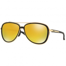 Oakley OO4129 03 SPLIT TIME SOFT TOUCH BLACK 24K IRIDIUM napszemüveg