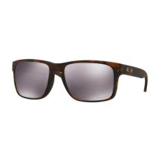 Oakley OO9102 F4 HOLBROOK MATTE BROWN TORTOISE PRIZM BLACK napszemüveg