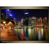 Odea.hu Éjszakai fények Sydneyben vászonkép 90x60 1 részes