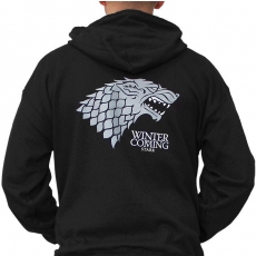 OEM Game of Thrones Kapucnis Pulóver - Winter is Coming M férfi