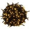 OEM Karácsonyi LED világítás 40 m - meleg fehér 400 LED - zöld kábel