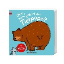 Oho, wem gehört der Tierpopo? – Thorsten Saleina idegen nyelvű könyv