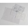 Okmánykísérő tasak / dokufix tasak, DL, öntapadós, 125x225 mm, 1000 db/DOBOZ