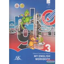 Oktatáskutató és Fejlesztő Intézet (Apáczai Kiadó) My English Workbook 3. nyelvkönyv, szótár