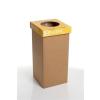 """ÖKUKA Szelektív hulladékgyűjtő, újrahasznosított, angol felirat, 20 l, RECOBIN """"Mini"""", sárga"""