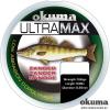 Okuma Ultramax Zander szürke pergető zsinór