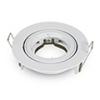 - Olcsó twist design spot lámpatest (kör), billenthető, fehér
