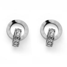 Oliver Weber Fülbevaló Swarovski kristályokkal Oliver Weber Timeless Steel fülbevaló