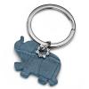 Oliver Weber Swarovski kristályokkal díszített kulcstartó Oliver Weber Elephant Blue