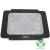 Omega Notebook hűtő USB porttal, Fehér (OMNCPK16W)