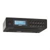 oneConcept oneConcept KR-120 DAB, fekete, konyharádió, beépíthető, DAB+, FM, RDS, teleszkópos antenna mellékelve