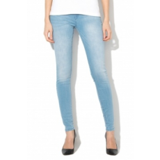 Only , Allan Push Up Skinny Fit farmernadrág, Világoskék, W27-L32 (15155770-LIGHT-BLUE-DENIM-W27-L32)