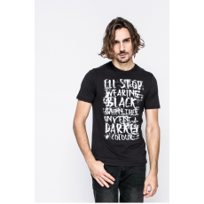 Only & sons - T-shirt Busker - fekete