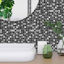 Öntapadós mozaik csempematrica konyhába, fürdőszobába dekoráció