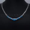 Opál nyakék görög kék