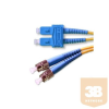 Optikai patch ST-SC 9/125 duplex 10m