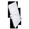 Optonica 12W mini led panel négyzet alakú (opál üveg, meleg fehér)