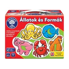 Orchard Toys , ÁLLATOK ÉS FORMÁK kreatív és készségfejlesztő