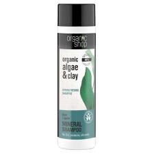 Organic Shop Erősítő sampon bio alga és agyag kivonattal 280 ml sampon