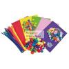 Óriási kreatív hobby csomag gyerekeknek - 550 db-os készlet, dekorgumi