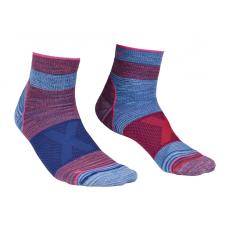 Ortovox Quarter Socks W kék/rózsaszín / Zoknie: 39-41