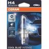 """Osram Halogén izzó, autó/gépjármű, H4, 60/55W, 12V, OSRAM, """"Cool Blue Intense"""", 1 db bliszter"""