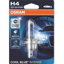 """Osram Halogén izzó, autó/gépjármű, H4, 60/55W, 12V, OSRAM, """"Cool Blue Intense"""", 1 db bliszter autó izzó, izzókészlet"""