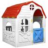 összecsukható gyerekjátszóház működő ajtóval és ablakokkal