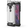 OTT! MOBILE OTT! MAX DEFENDER műanyag védő tok / hátlap - EZÜST - szilikon belső, ERŐS VÉDELEM! - MOTOROLA Moto E5 (2018) / MOTOROLA Moto G6 Play (2018)
