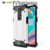 OTT! MOBILE OTT! MAX DEFENDER műanyag védő tok / hátlap - FEHÉR - szilikon belső, ERŐS VÉDELEM! - OnePlus 6