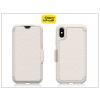 Otterbox Apple iPhone X flipes védőtok - OtterBox Strada - pale beige