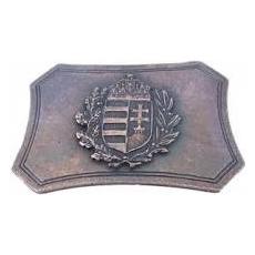 Övcsat-címeres,szögletes (bronz színű)