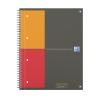 """Oxford Spirálfüzet, A4+, kockás, 80 lap, OXFORD, """"International Notebook"""""""