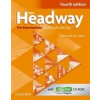 Oxford University Press New Headway Pre-Intermediate (4th Edition) Workbook with Answer Key & iChecker CD-ROM