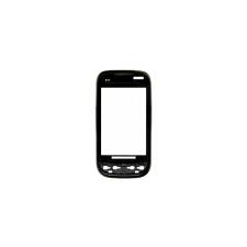 P690 Optimus Net előlap fekete mobiltelefon előlap