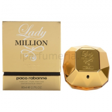 Paco Rabanne Lady Million Absolutely Gold parfüm nőknek 80 ml parfüm és kölni