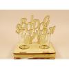 Pálinkás pohár szett születésnapi 2db - Boldog születésnapot feliratos