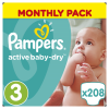 Pampers Active Baby 3 Midi 208