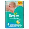 Pampers Active Baby 4 Maxi Giant Pack Pelenka, 76 db