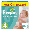 Pampers Active Baby 4 Maxi Pelenka - 174 db