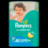 Pampers Active Baby-Dry 4+ Maxi+ pelenka, 45 db (4015400735724)