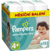 Pampers Active Baby-Dry vel. 4+ Maxi 152 db