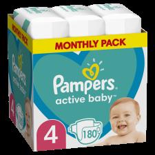 Pampers Active Baby Pelenka, 4-es méret, 180 db, 9kg-14kg pelenka
