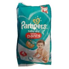 Pampers Baby-Dry Nappy Pants 4 pelenka 9-15kg 4db - 18-as csomag pelenka