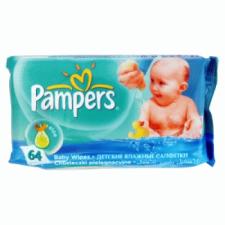 Pampers baby törlőkendő utántöltő 64 db baby fresh pelenka